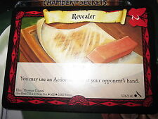 HARRY POTTER TCG GAME CARD CHAMBER OF SECRETS REVEALER 126/140 COM MINT ENGLISH
