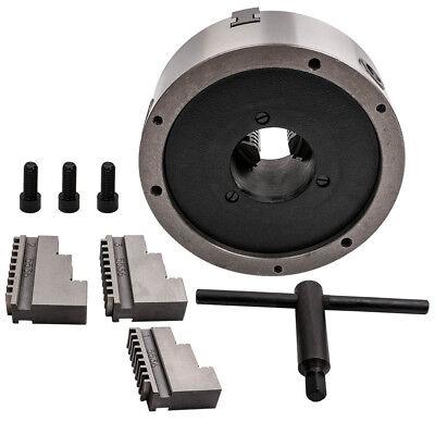 8in 200mm 3-Jaw Lathe Chuck Self Centering Hardened Steel K11-200 Reversible Jaw