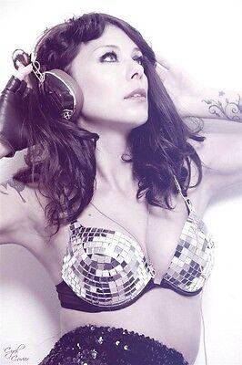 Lady Gaga fancy dress DISCO BALL MIRROR BRA Dancer Christmas Ibiza zoo project