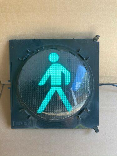 Ampel LED Grün Siemens Silux 40V 210mm  Symbol Fußgänger