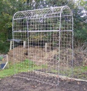 Image Is Loading Pea And Bean Domed Frame Garden Outdoor Plant