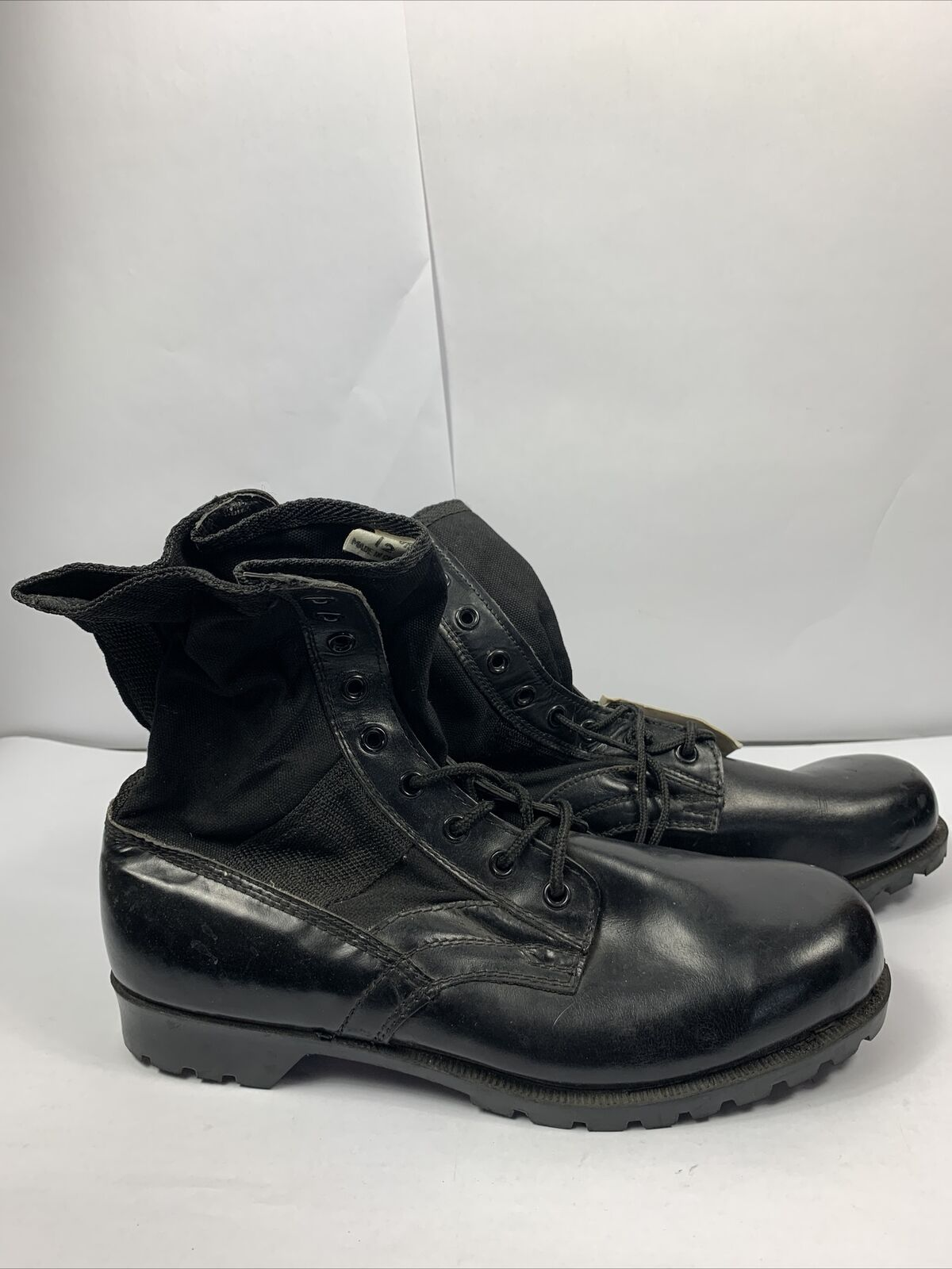 Texsport US ARMY Black Tropical COMBAT Boots Mens Size 12 New NWT