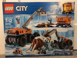 LEGO City Arctic Mobile Exploration Base 60195 New