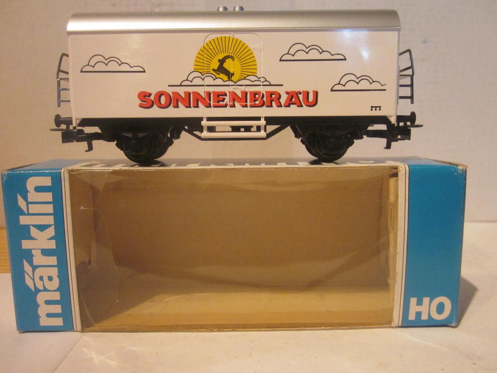 Märklin somo carro de cerveza  sonnenbräu  top + embalaje orig. por favor leer