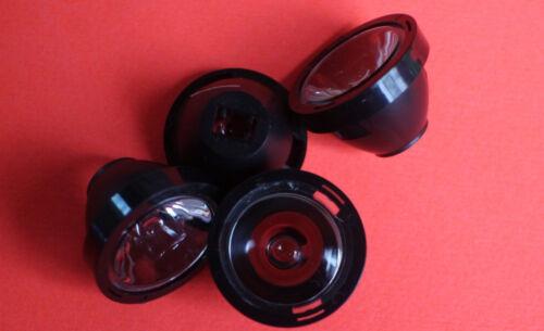 5PCS x 45 Degree 21mm  clear  Lens For Cree XPE XPG XTE LED