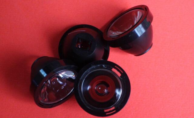 5PCS x 30 Degree 21mm  clear  Lens For Cree XPE XPG XTE LED