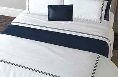 Weiß Bettwäsche Bettwaren, -wäsche & Matratzen Gastfreundlich Matouk Bel Tempo King Bettbezug