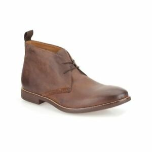 Clarks Mens Novato Mid Brown Leather Chukka Ankle Boots Uk 7 5