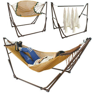 Image Is Loading High Grade Portable Folding Hammock Stand  Adjustable Camping