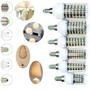 LED-Corn-Light-Bulb-E12-E14-E27-B22-2835-SMD-30W-100W-Halogen-Lamp-Replacement