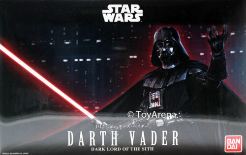 Star Wars 1//12 Scale Darth Vader Dark Lord of the Sith Model Kit BANDAI IN STOCK