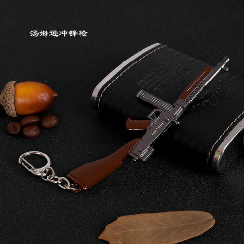 Soldier Sniper Rifle Weapon AWM Metal Model Gun AK Toy Keychain For  6/'/' Figures