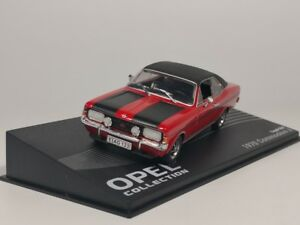 IXO-1-43-OPEL-Commodore-A-Coupe-GS-E-1970-Diecast-Voiture-Modele
