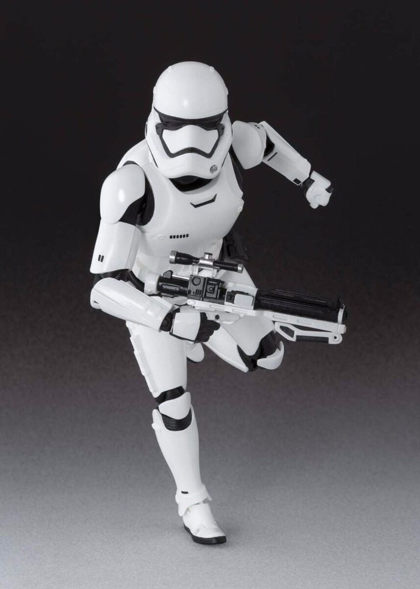 S.H.Figuarts STAR Force WARS The Force STAR Awakens FIRST ORDER STORMTROOPER BANDAI Japan b92823