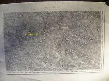 Carte d'État-Major Angoulême Sud-Est 1893