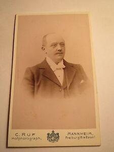 Mannheim-Ludwigshafen-a-Rh-Wilhelm-Schmitz-im-Dezember-1898-Portrait-CDV