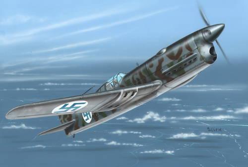 Azur 1 32 Caudron C.714C Finnish A091
