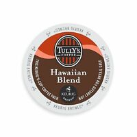 Tully's Coffee K-cups, Hawaiian Blend, 96 Count, New, Free Shipping