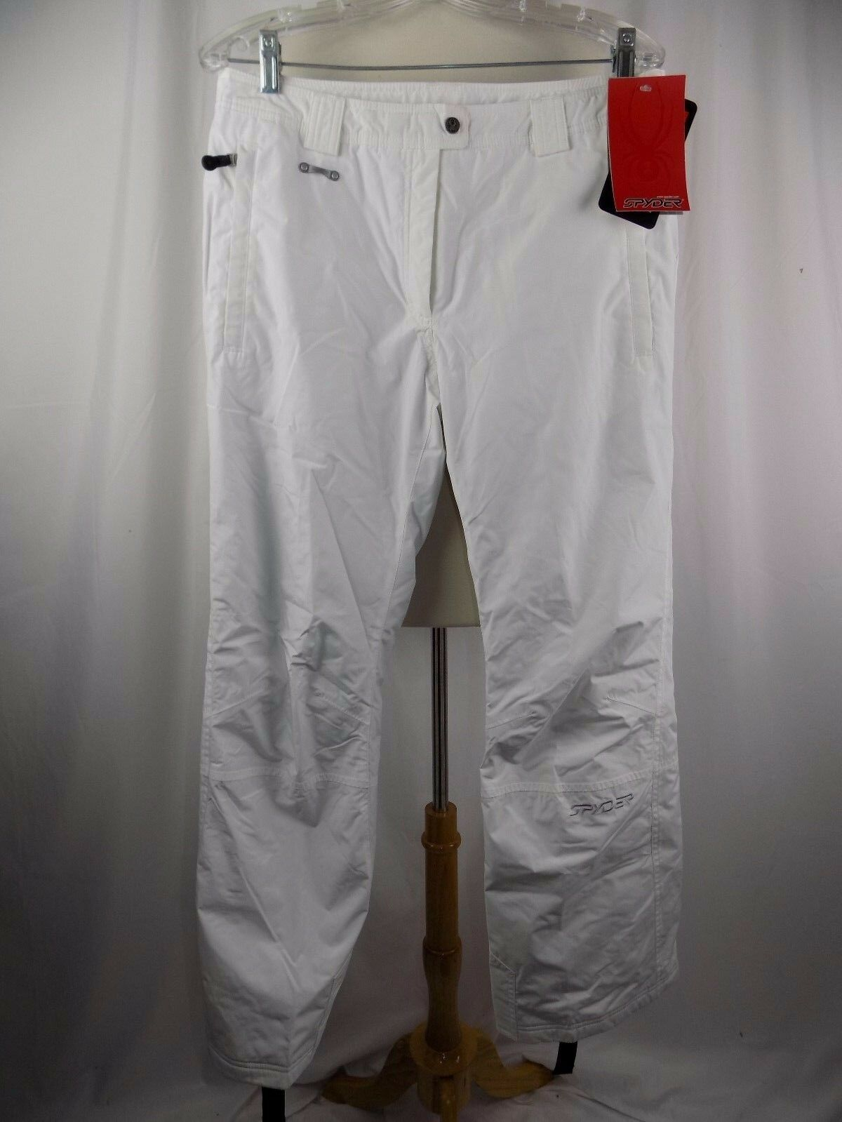 SPYDER PANTS SKI SNOWBOARDING WOMEN'S SZ 10 THINSULATE 34 x 31 NEW