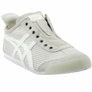 low priced c220b 7ecfe Details about ASICS Onitsuka Tiger Mexico 66 Slip-On White - Mens