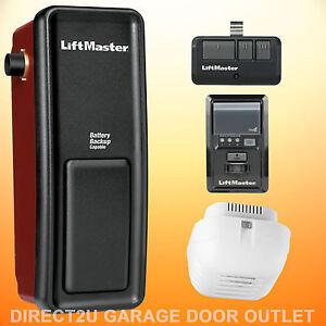 Liftmaster-8500-Wall-Mount-Garage-Door-Opener-MULTIPLE-PACKAGE-DEALS-TO-CHOOSE
