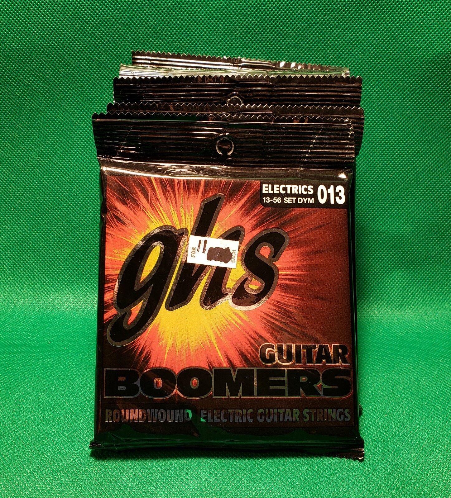 GHS DYM Boomers Boomers Boomers medio de cuerdas para guitarra eléctrica 13-56 (11 paquetes)  100% a estrenar con calidad original.