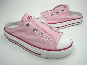 Converse-Kid-039-s-CT-AS-Scuff-Mule-Slip-Ons-Pinklady-Rose-Canvas-US-Size-13-Medium
