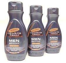 Palmer's Cocoa Butter Formula Vitamin E Men Body & Face Lotion 24 Hour Moisture