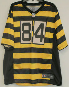 new product bed89 05fa1 Details about Antonio Brown Nike Steelers Nike Bumble Bee Jersey Sz. Large