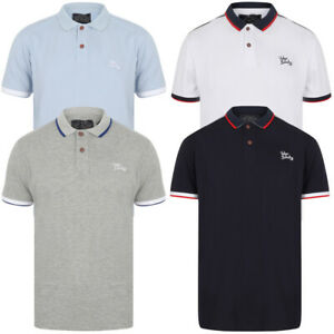 100% QualitäT Tokyo Laundry Mens Finley Point Pique Cotton Polo Shirt T-shirt Top Short Sleeve