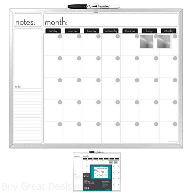 Buy Board Dudes 16 X 20 Inches Aluminum Framed Magnetic Dry Erase