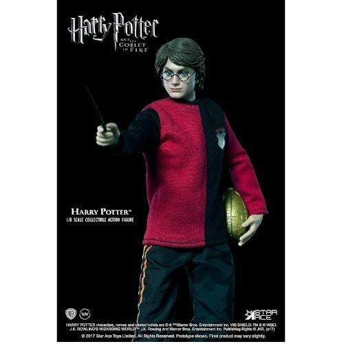 Harry Potter + Hedwig Action Figure Star Ace 23 cm New From Store Italian