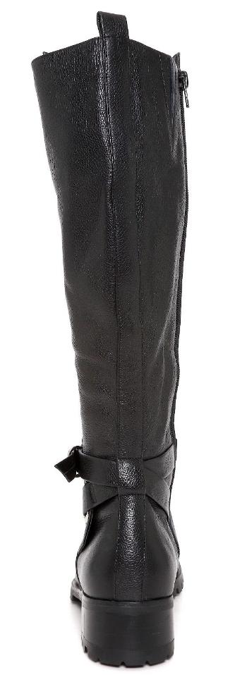 Tesori Valencia Womens Black Black Black Leather Boot Sz 8 3407  f4dc87