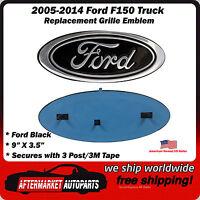 Ford Truck Emblem 9 Oval Black Medallion Badge For Grille Or Tailgate
