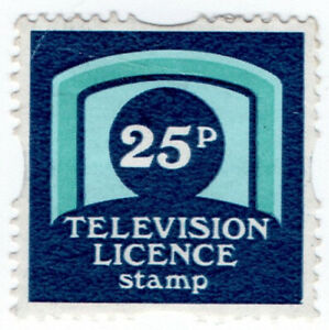 I-B-Elizabeth-II-Revenue-TV-Licence-Savings-Stamp-25p
