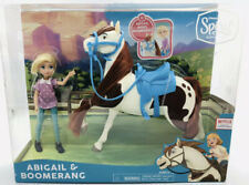DreamWorks Spirit Riding Free Collector Doll /& Horse Abigail Stone /& Boomerang