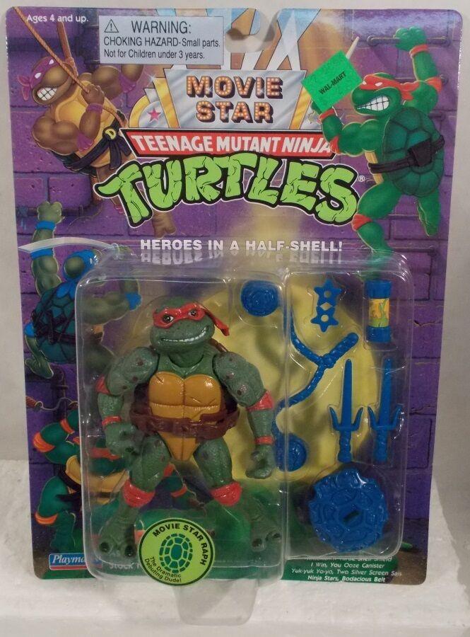 compra limitada Teenage Mutant Ninja Turtles Movie Estrella Raphael Raph Teenage Mutant Mutant Mutant Ninja Turtles 1995 Reissue (menta en tarjeta)  con 60% de descuento