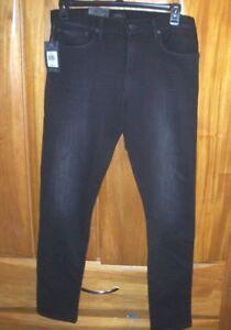57dd9748 Polo Ralph Lauren Eldridge SKINNY slim Stretch 5 pocket black jeans ...