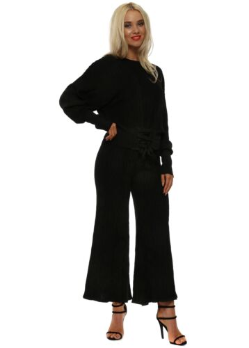 Shining Knit By di Metallizzato Co Nero Set pantaloni 5056234550755 May ord Star qTS5wnxwfX