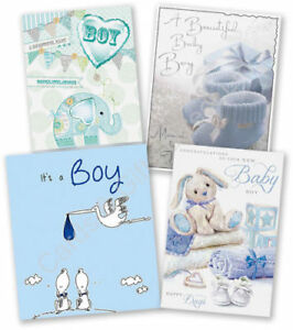 Congratulations new baby boy greeting card birth little baby boy image is loading congratulations new baby boy greeting card birth little m4hsunfo