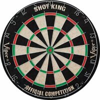 Viper Shot King Bristle Dartboard , New, Free Shipping