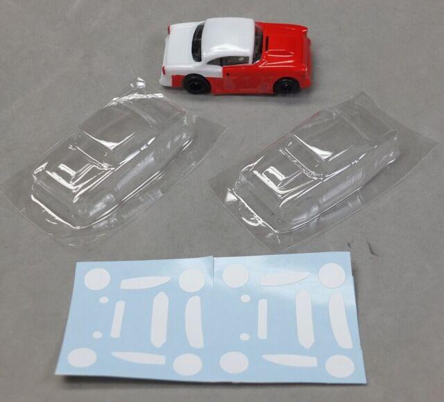 Ho Slot Car Parts Hcs 55 Chevy Clear 010 Lexan Body For Sale Online Ebay