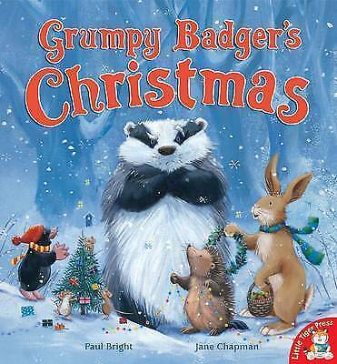 1 of 1 - Grumpy Badger's Christmas by Paul Bright, Book, New (Paperback)