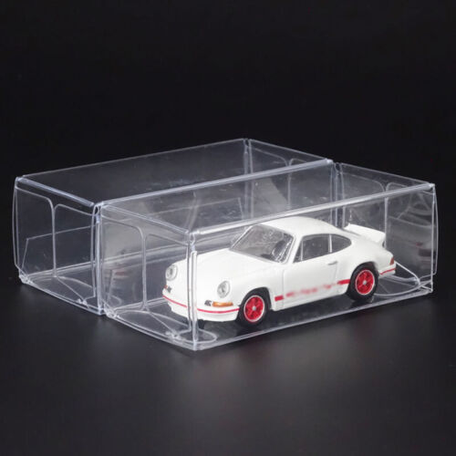 20*Display Box 1:64 Clear Plastic PVC Case Cover Show For Diecast Model Toy-Car