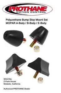 Details about MOPAR A-Body (62-76) Polyurethane Bump Stop Set