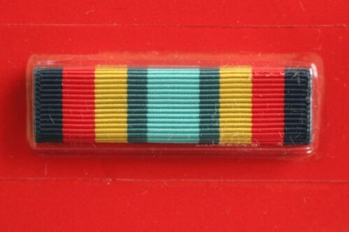 NO MOUNT 161 USN USMC USCG USAF ARMY MEDAL AWARD RIBBON ONLY SEA SERV DEPLOY