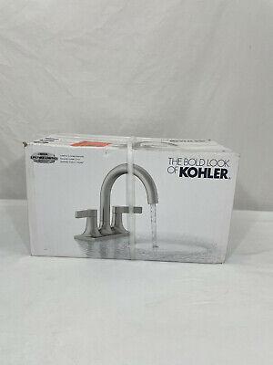 Kohler Venza 8 In Widespread 2 Handle Bathroom Faucet In Vibrant Brushed Nickel 885612732262 Ebay