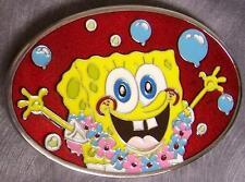 Pewter Belt Buckle Cartoon SpongeBob SquarePants NEW