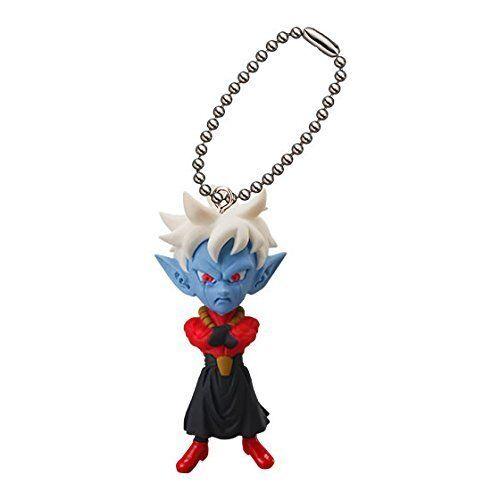 Dragon Ball Z Mascot Swing Anime PVC Keychain SD Figure Demon King ~ Mira @3101