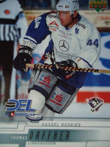 125 Thomas Daffner Kassel Huskies DEL 2000-01